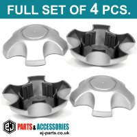 Wheel Center Hub Caps / 130.0mm - 68.0 mm FULL SET OF (4) FOUR CAPS