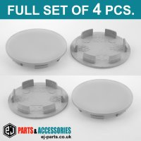 Wheel Center Hub Caps / 59.0mm - 52.0 mm FULL SET OF (4) FOUR CAPS