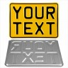 "7""x5"" 180x130 mm Yellow Single (1) personalised Toy Kids Car Motorcycle Pressed TEXT Novelty Plate - 7""x5"" 180x130 mm Yellow Single (1) personalised Toy Kids Car Motorcycle Pressed TEXT Novelty Plate"