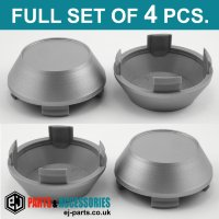 Wheel Center Hub Caps / 60.0mm - 56.0 mm FULL SET OF (4) FOUR CAPS