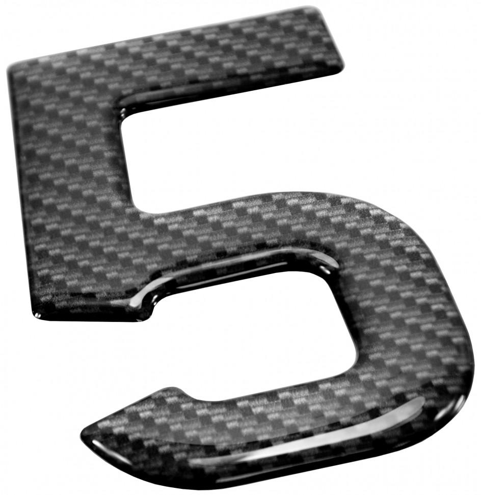 3D Gel Domed Digit Domed DIY Registration Reg Number Plate CARBON Letter C