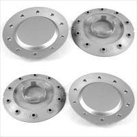 Audi VW Wheel Center Hub Caps / 155.0mm - 58.0 mm FULL SET OF (4) FOUR CAPS