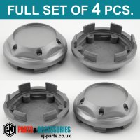 Wheel Center Hub Caps / 67.5mm - 62.5 mm  FULL SET OF (4) FOUR CAPS