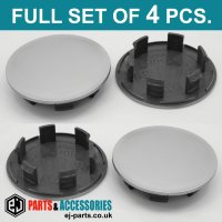 Wheel Center Hub Caps / 76.0mm - 58.5 mm  FULL SET OF (4) FOUR CAPS
